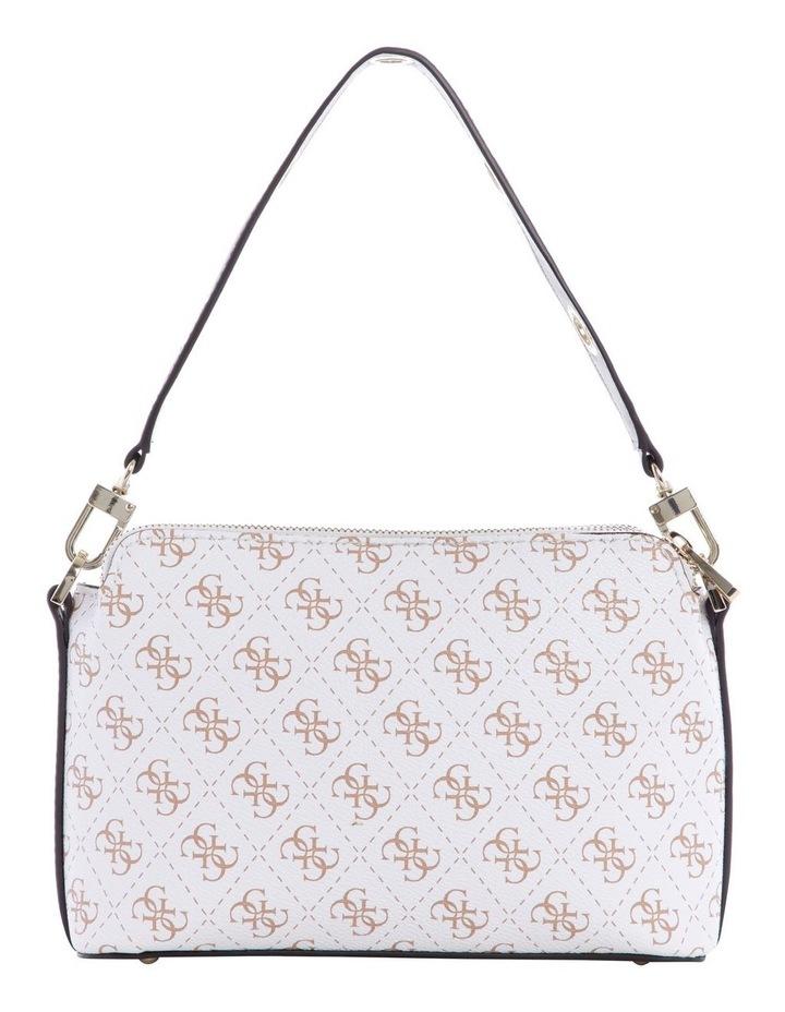 Washington White Multi Zip Top Crossbody Bag image 2