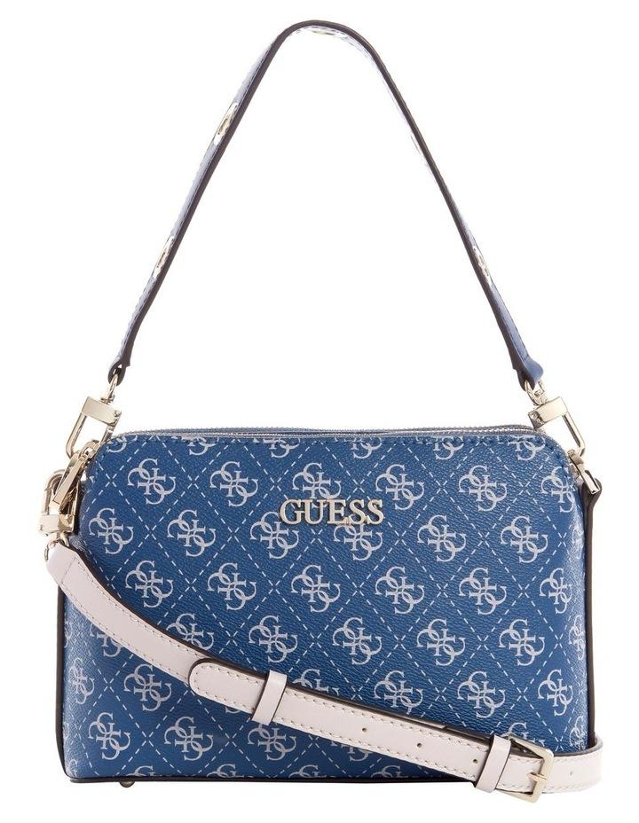 Washington Blue Multi Zip Top Crossbody Bag image 1