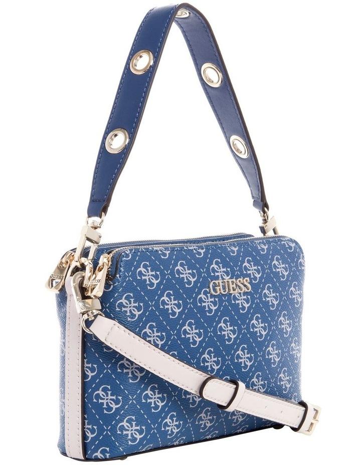 Washington Blue Multi Zip Top Crossbody Bag image 2