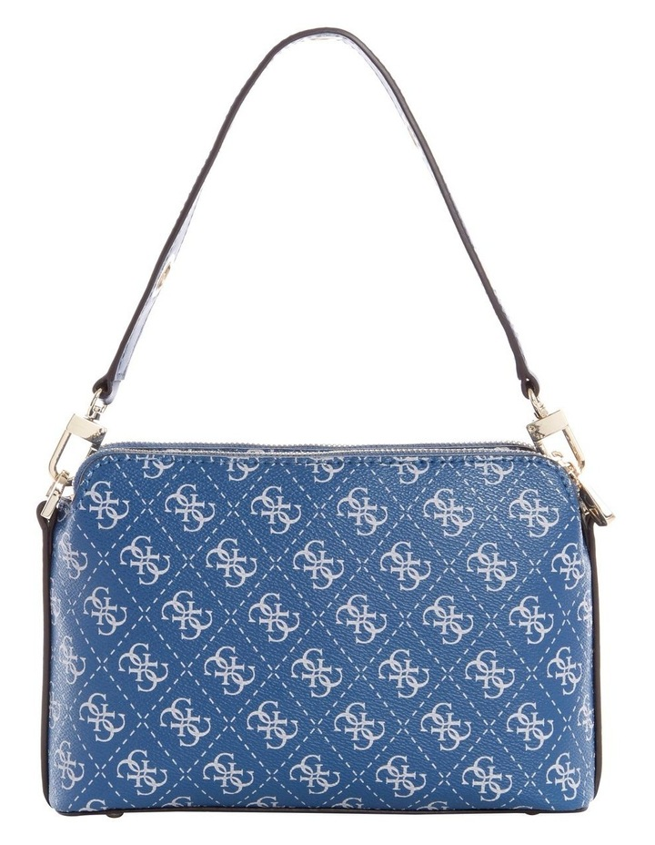 Washington Blue Multi Zip Top Crossbody Bag image 3