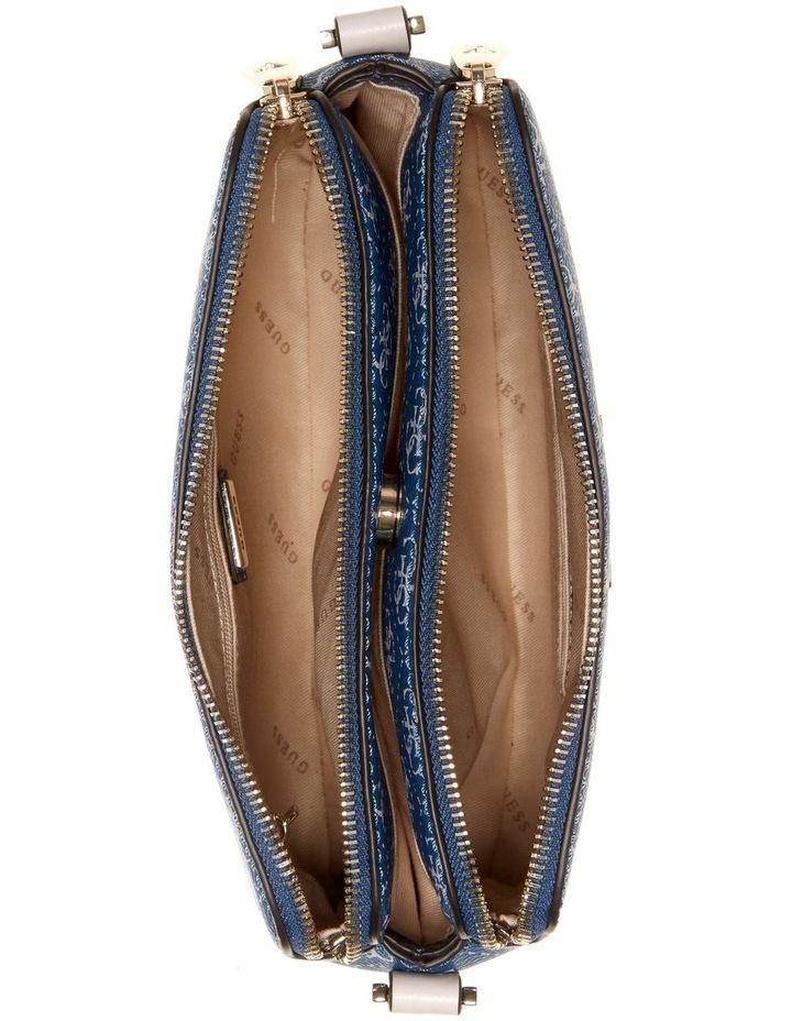 Washington Blue Multi Zip Top Crossbody Bag image 4