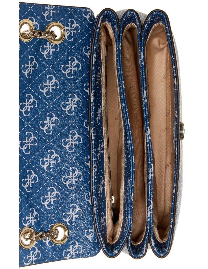 Washington Blue Multi Flapover Shoulder Bag image 3