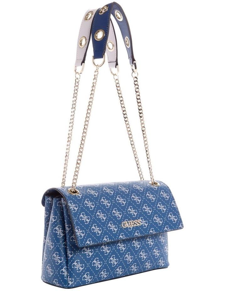 Washington Blue Multi Flapover Shoulder Bag image 4