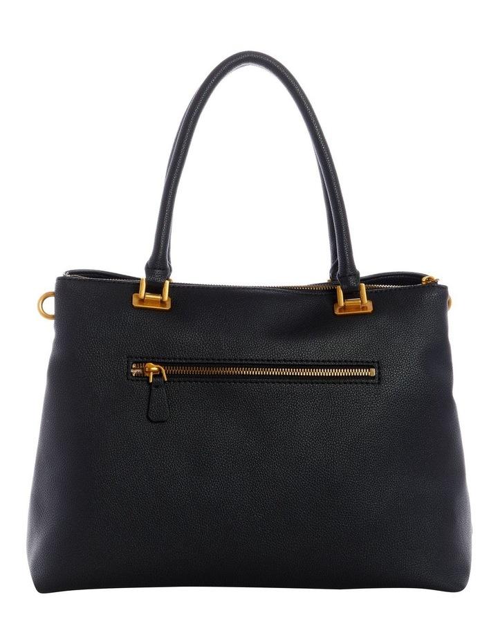 Destiny Black Zip Top Tote Bag image 2