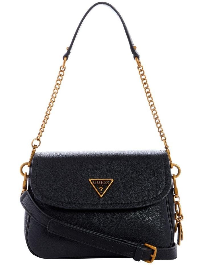 Destiny Black Flapover Shoulder Bag image 1