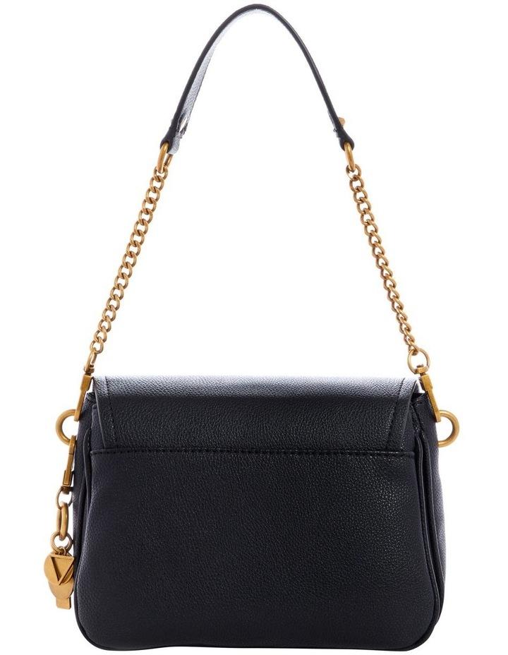Destiny Black Flapover Shoulder Bag image 2