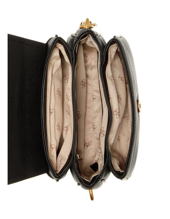 Destiny Black Flapover Shoulder Bag image 3