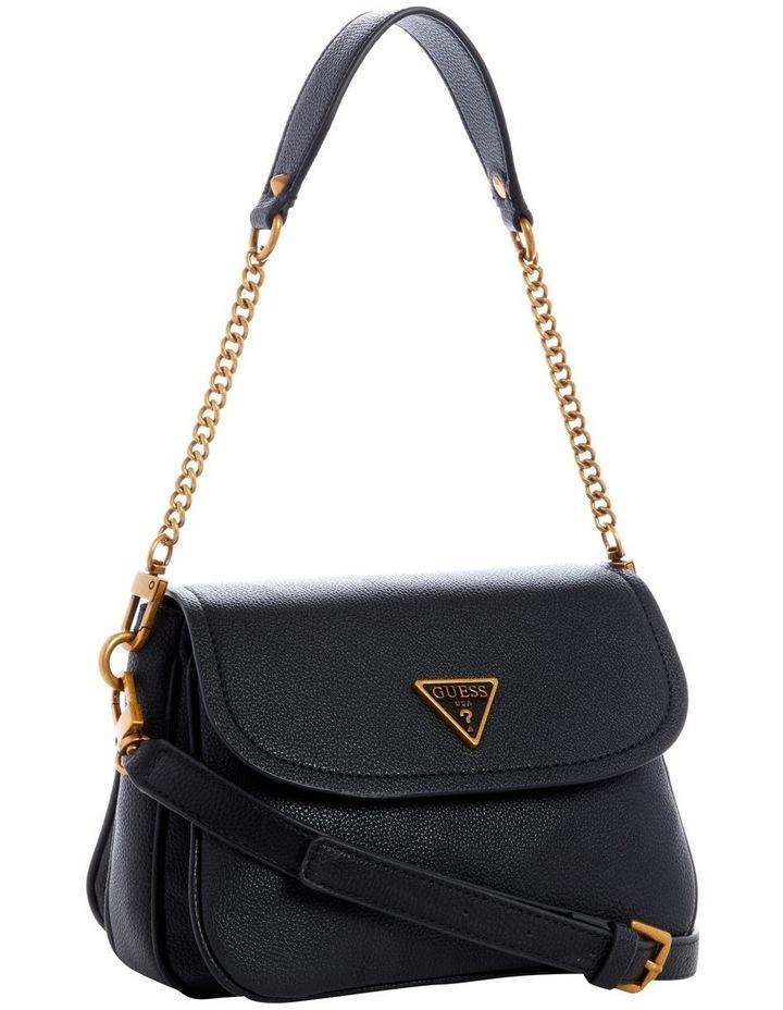 Destiny Black Flapover Shoulder Bag image 4