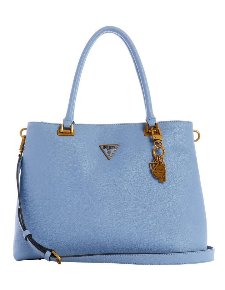 VB787810BLU Destiny Blue Zip Top Tote Bag image 1