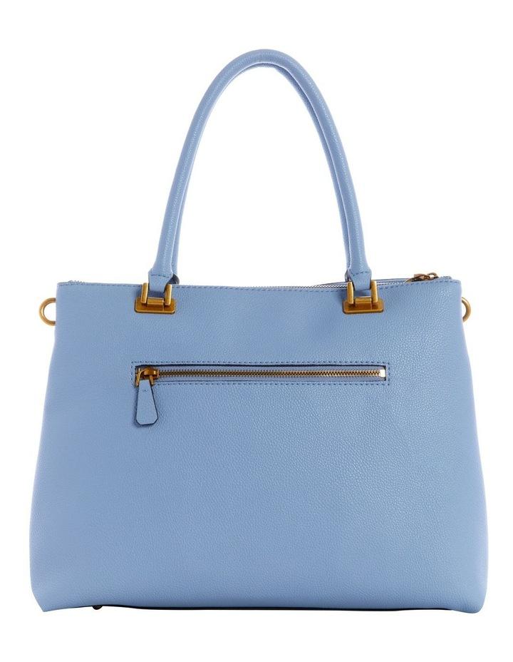 VB787810BLU Destiny Blue Zip Top Tote Bag image 2