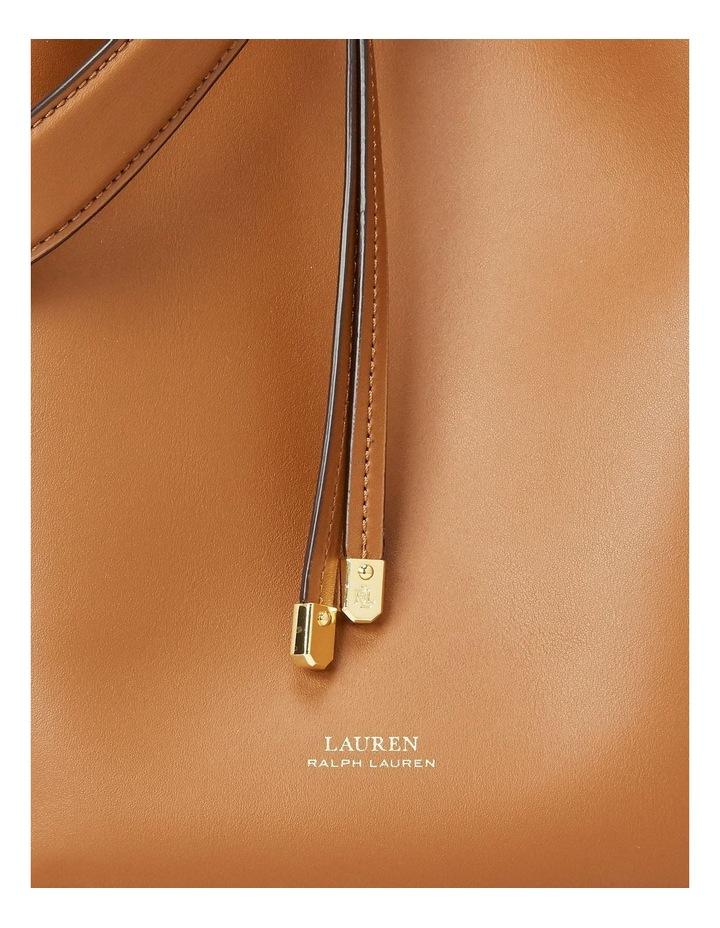 Debby Lauren Tan Monarch Orange Bucket Shoulder Bag image 5