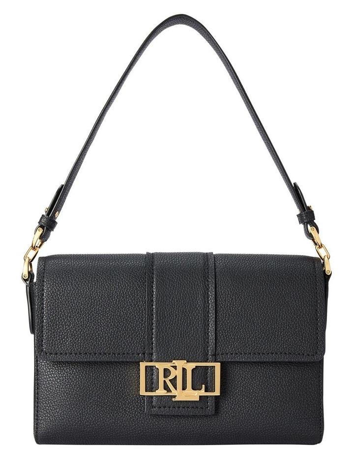 Spencer 25 Black Flap Over Shoulder Bag image 1