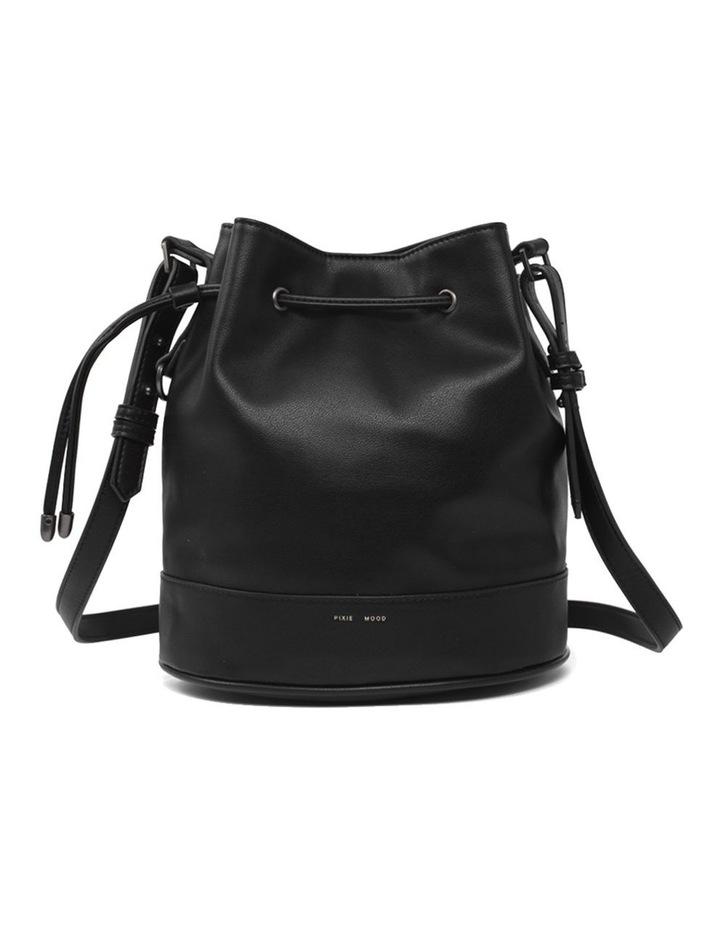 Amber Black Bucket Shoulder Bag image 1