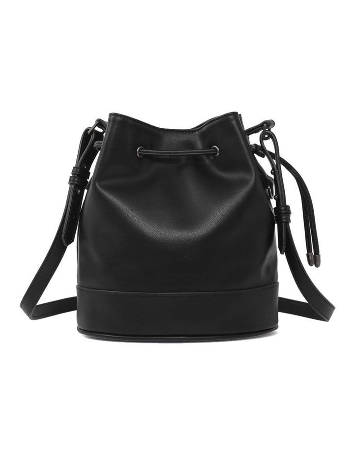 Amber Black Bucket Shoulder Bag image 2