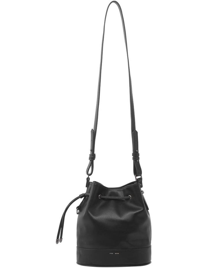 Amber Black Bucket Shoulder Bag image 4
