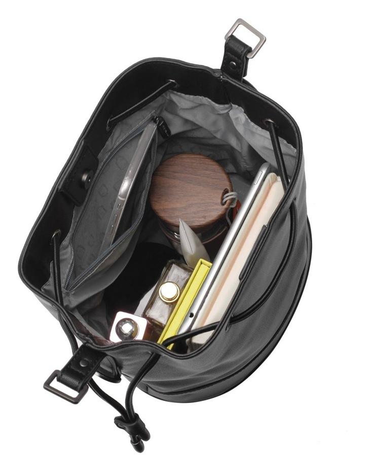 Amber Black Bucket Shoulder Bag image 6