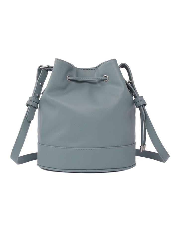 Amber Mineral Blue Bucket Shoulder Bag image 2