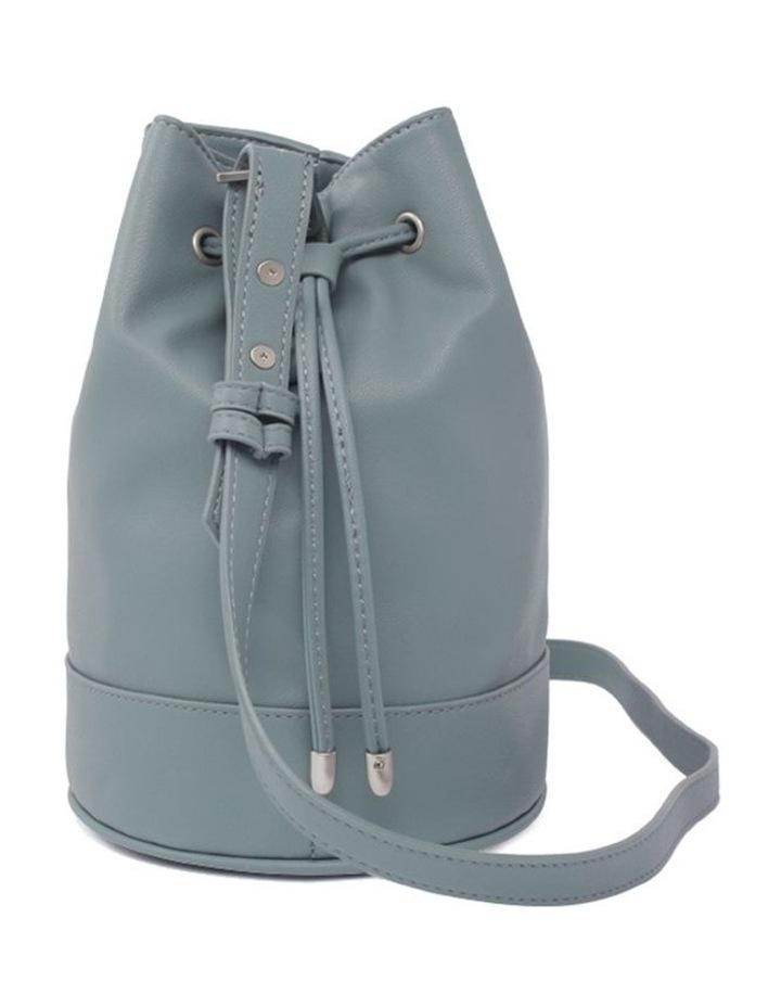 Amber Mineral Blue Bucket Shoulder Bag image 3