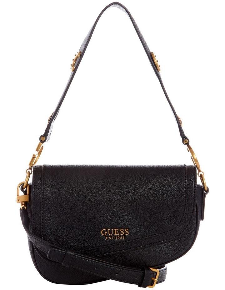 G Dream Black Flapover Shoulder Bag image 1