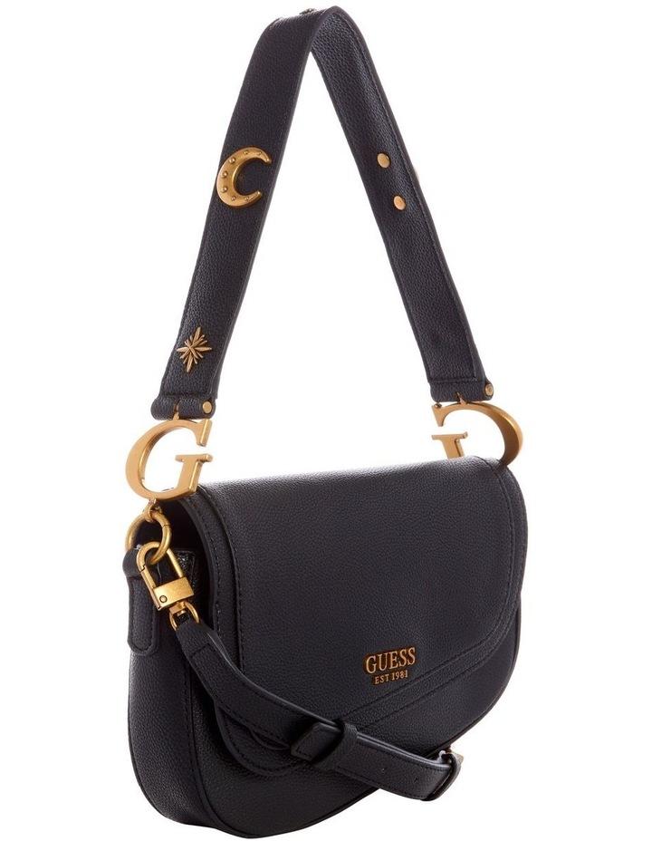 G Dream Black Flapover Shoulder Bag image 4