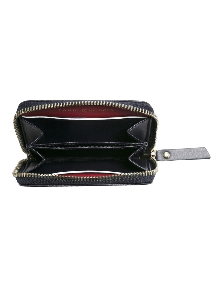 Small Leather Zip-Around Wallet image 2