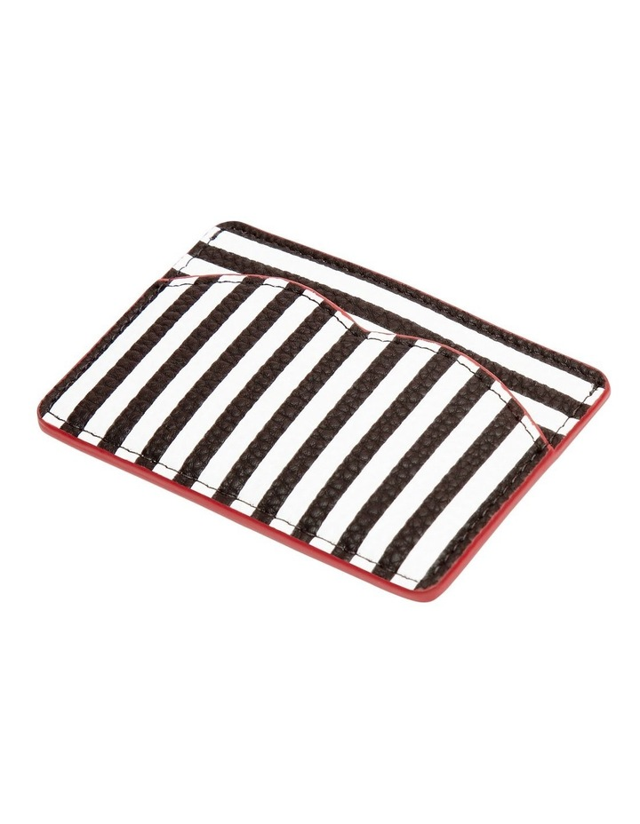 Stripe Cupids Bow Card Holder image 1