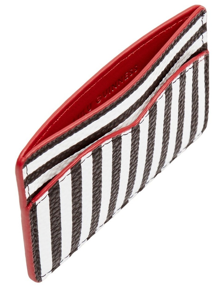 Stripe Cupids Bow Card Holder image 3