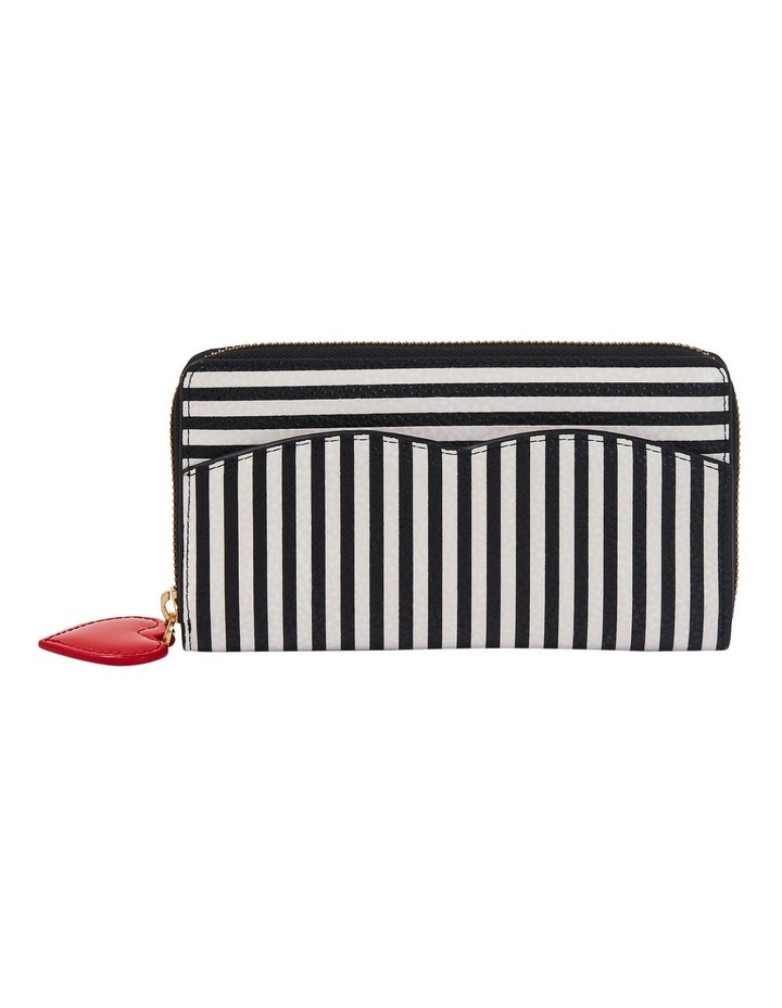 Stripe Cupids Bow Continental Wallet image 1