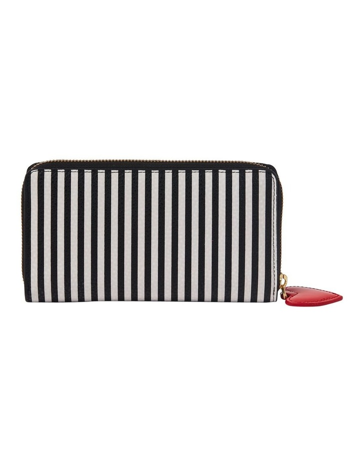 Stripe Cupids Bow Continental Wallet image 2