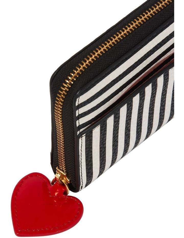 Stripe Cupids Bow Continental Wallet image 3
