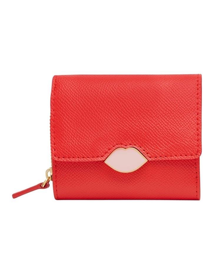Scarlet Pop Up Lip Saffie Wallet image 1