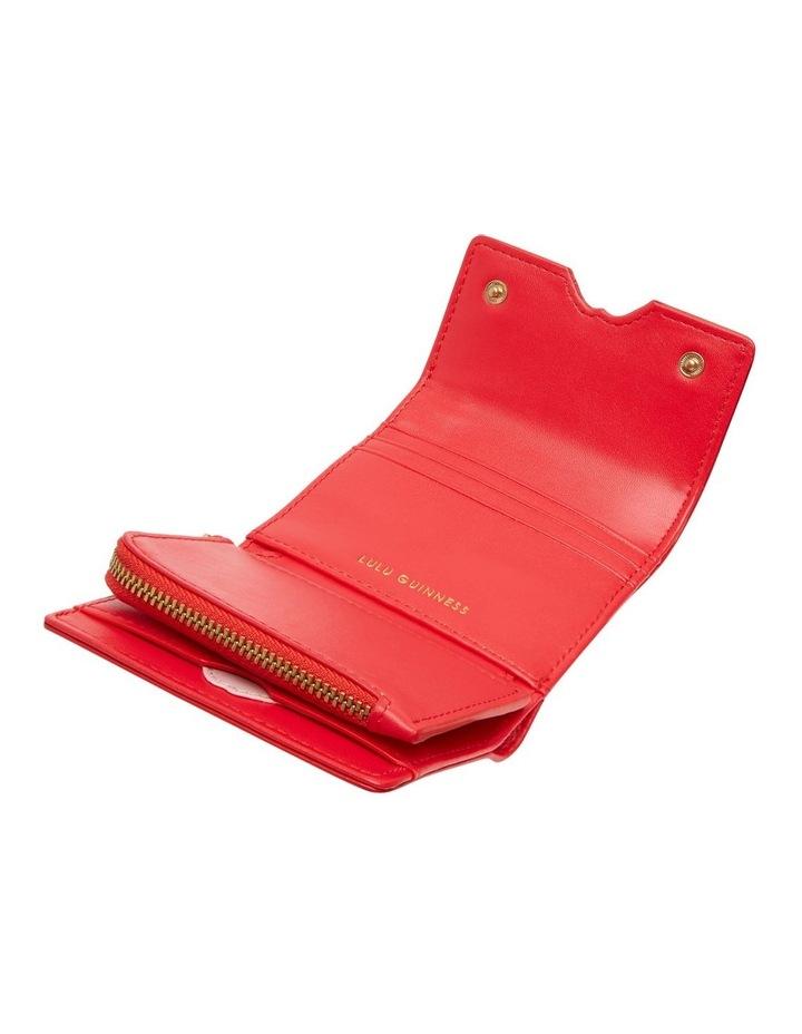 Scarlet Pop Up Lip Saffie Wallet image 3