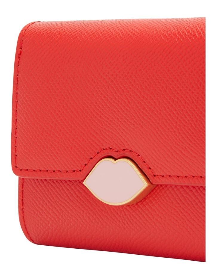 Scarlet Pop Up Lip Saffie Wallet image 4