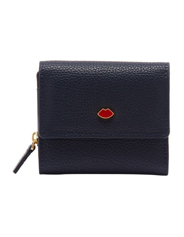 Navy Pop Out Lip Jodie Wallet image 1
