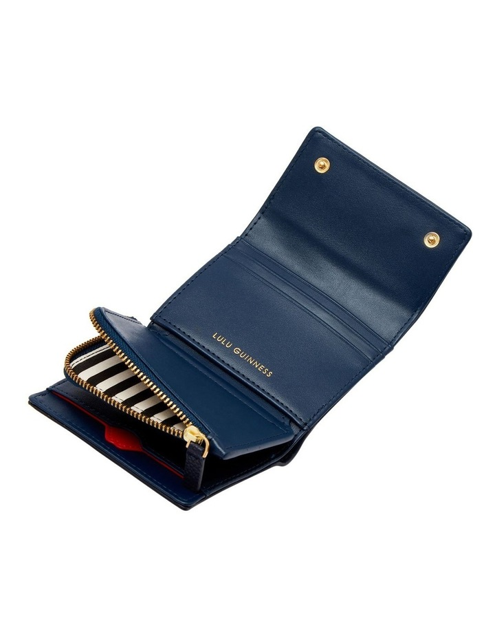 Navy Pop Out Lip Jodie Wallet image 3
