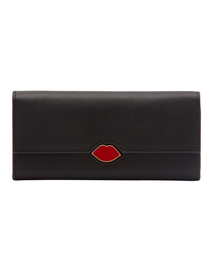 Black Leather Cora Wallet image 1