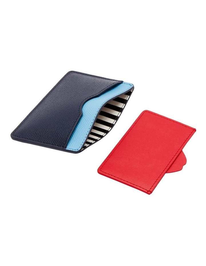 Sky/Navy Lip Cut Out Cate Cardholder image 3