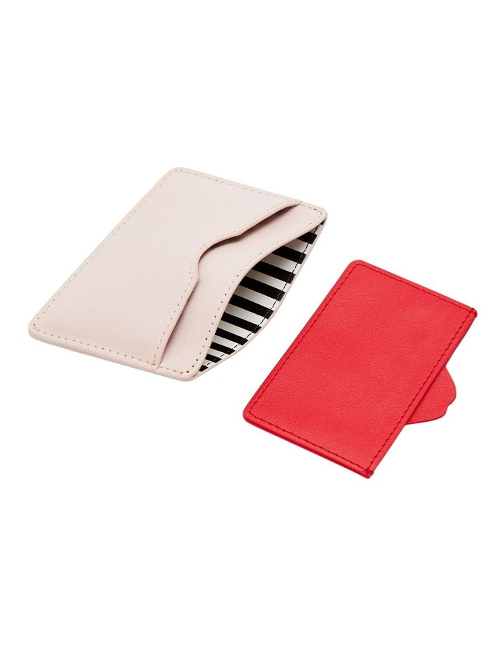 Blush Lip Cut Out Cate Cardholder image 3