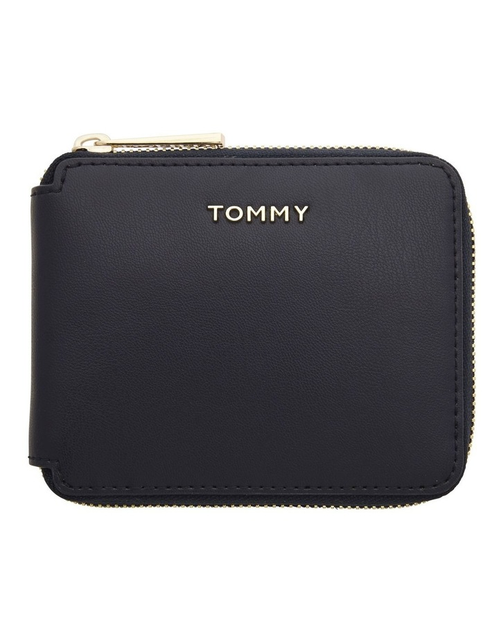 AW0AW08499_0GY ICONIC TOMMY Zip Around Wallet image 1