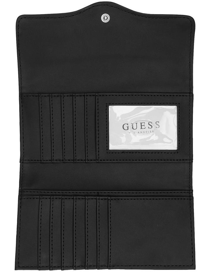 HH750251BLA Modesto Black Large Zip Around Wallet image 4