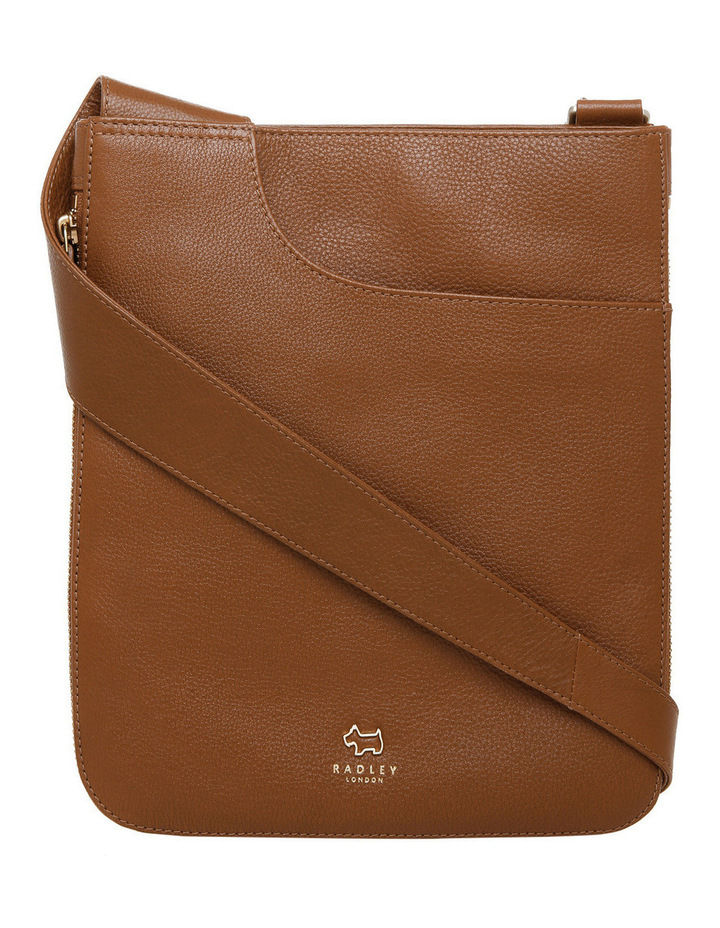 Pockets Zip Top Crossbody Bag image 1