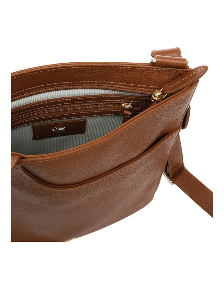 Pockets Zip Top Crossbody Bag image 4