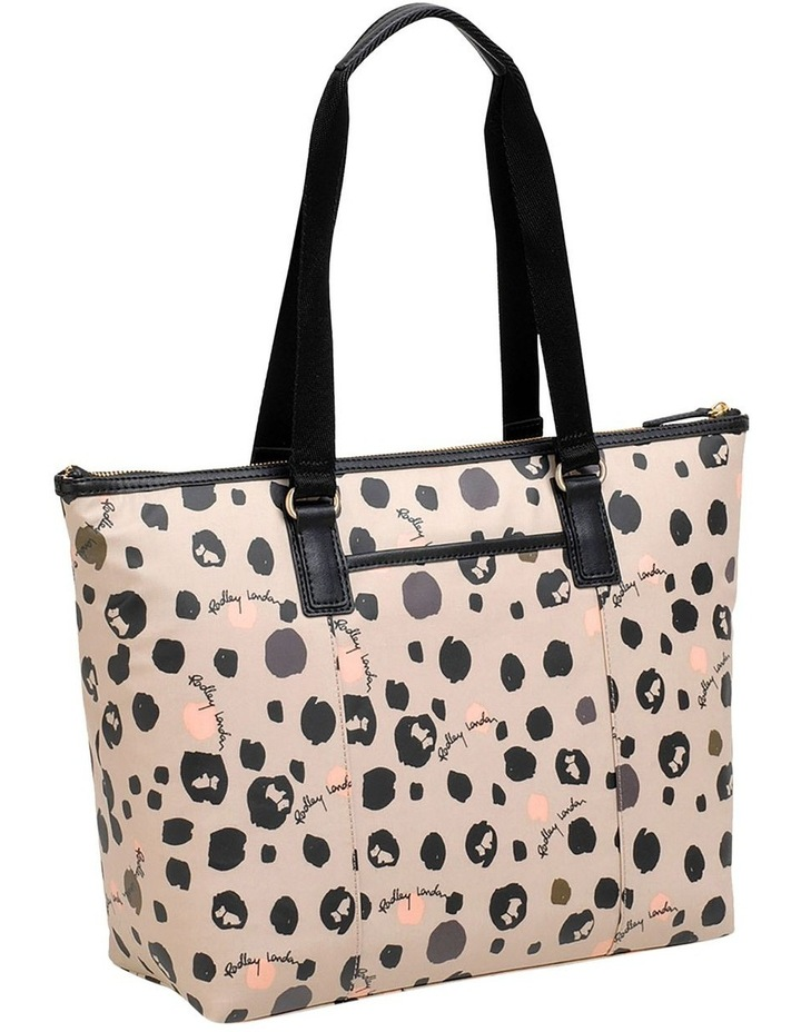 Bubble Dog Large Zip Top Tote Shoulder image 2