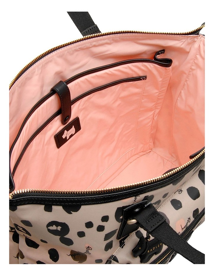 Bubble Dog Large Zip Top Tote Shoulder image 3