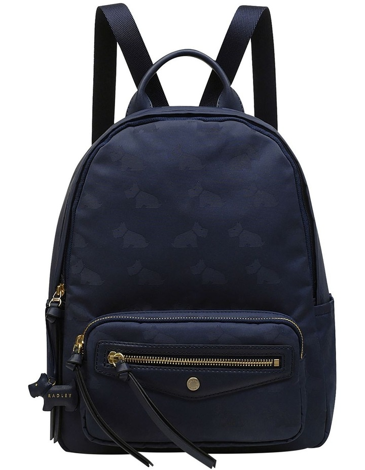 Radley Jaquard Medium Zip Around Backpack image 1