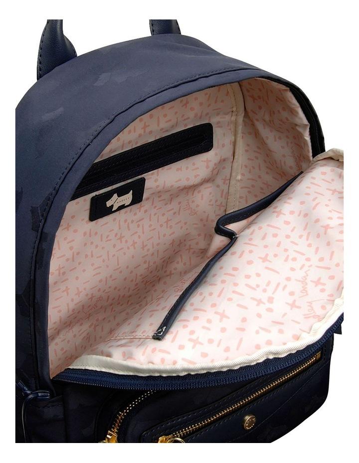 Radley Jaquard Medium Zip Around Backpack image 4