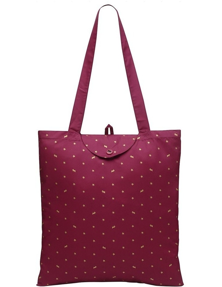 Ditsy Dog Foil Double Handle Tote Bag image 1