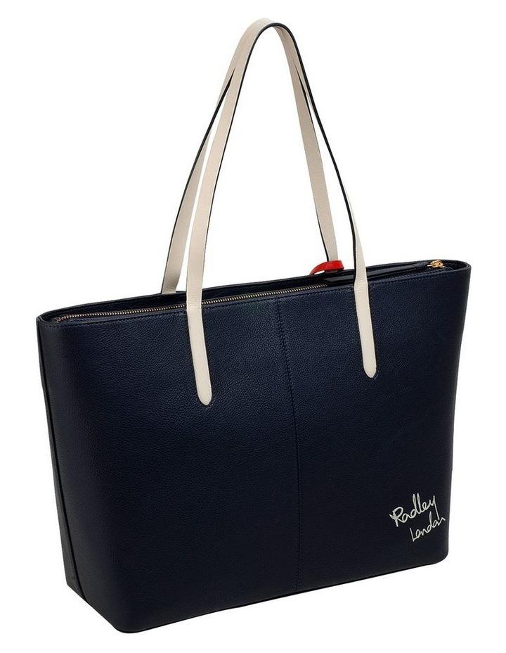 London Shopper Navy Tote Bag image 2