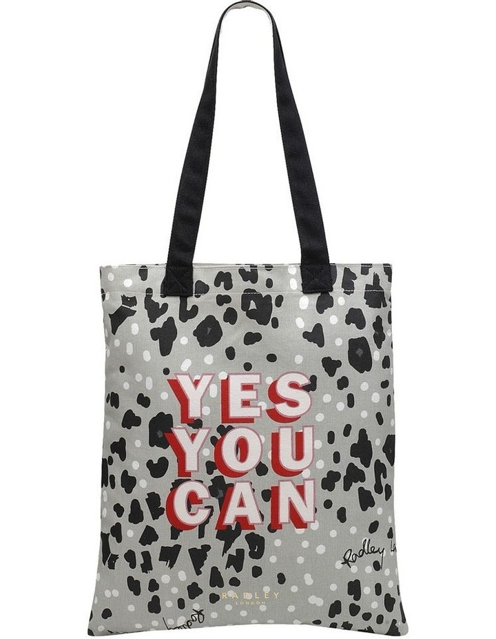 Motivational  Grey Tote Bag image 1