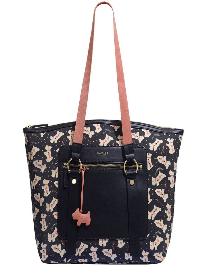 Dotty Dog Large Zip Top Tote image 1